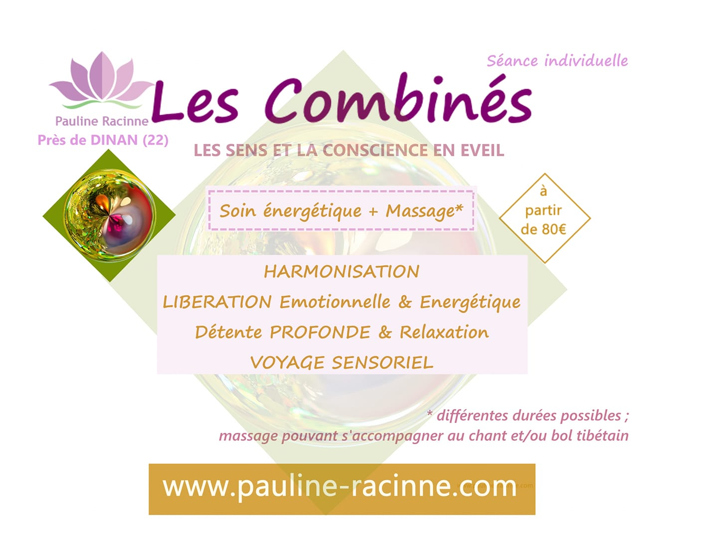 pauline racinne combiné soin complet massage relaxation